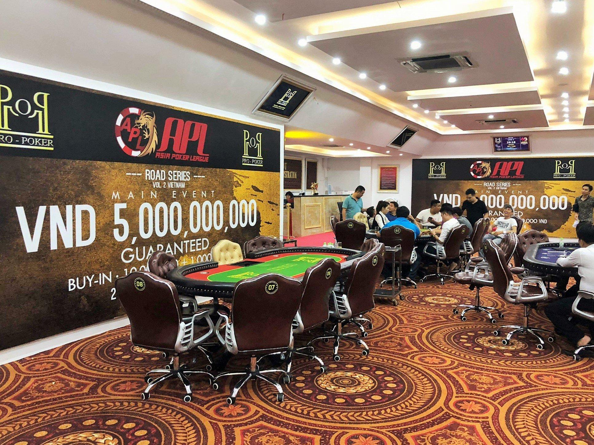 Asia Poker League (APL) announces 5 Billion VND GTD Event in Vietnam
