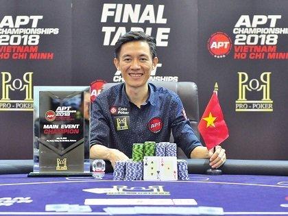 Dang Xuan Canh wins APT Vietnam HCM Main Event; Gavin Flynn, Huynh Tan Dung, and Yohwan Lim earn titles
