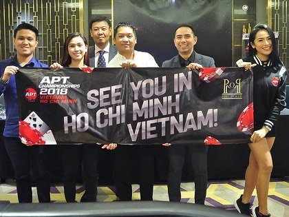 APT heats up July with the Vietnam Ho Chi Minh Championships