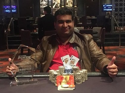 Big winners of the Melbourne Poker Championship; Gautam Dhingra wins the Main Event