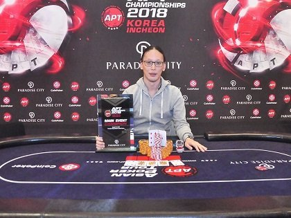 Iori Yogo wins APT Korea Main Event; Masato Yokosawa, Eric Tsai, Kevin Clark win High Roller events