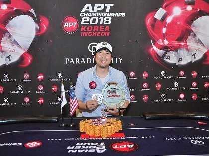 Jaepil You wins the APT Korea Icheon Championships Event, Inotsume Kazuma wins Player of the Series