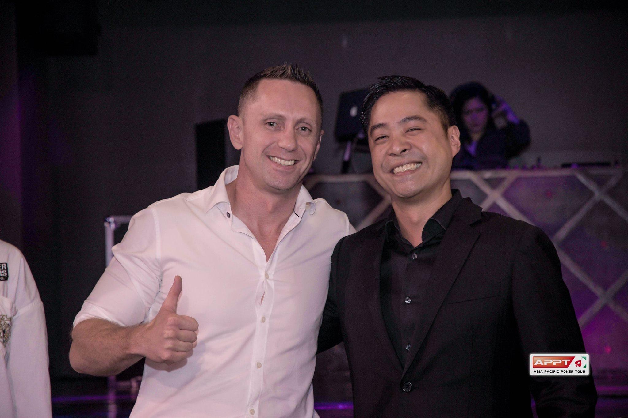 Fred Leung and Mark Blake - Photo PokerStars