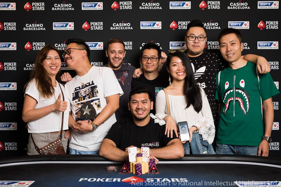 Michael Soyza continues his victory run at EPT Barcelona High Roller; Over 4300 entries for EPT National