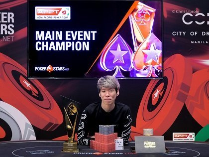 Wilson Lim wins Record-Breaking APPT Manila Main Event