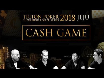 Watch: The first episode of the Triton Poker SHR Jeju $US 1m Buy-In Cash Game is out!
