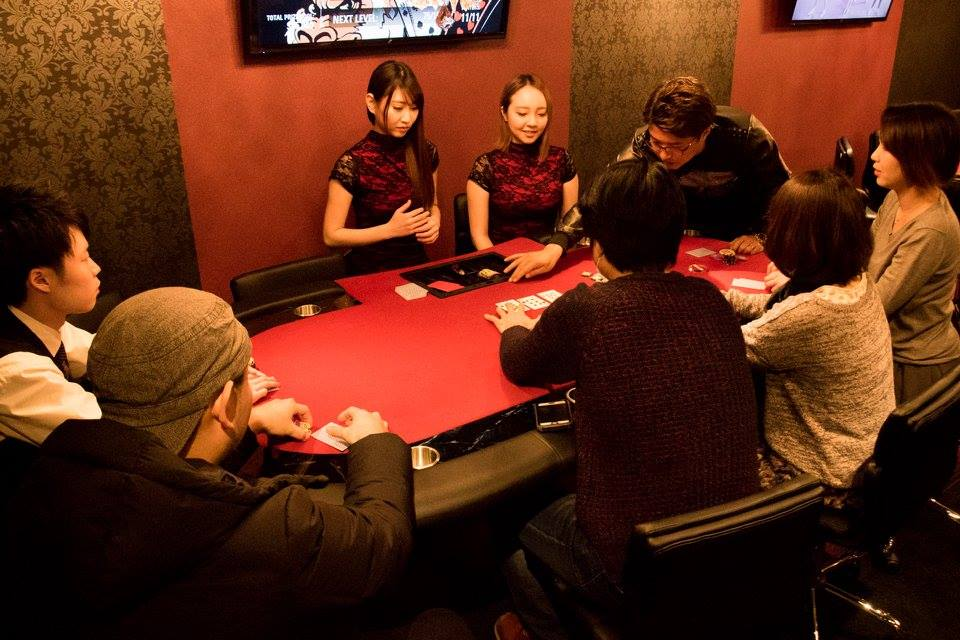Hige Gorilla Poker Room Tokyo