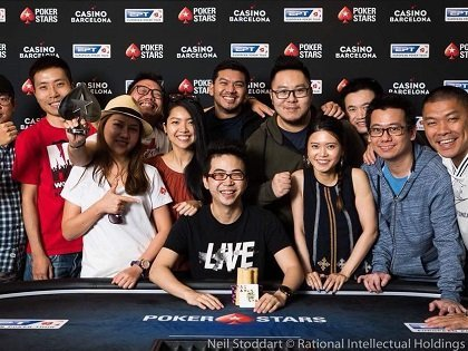 EPT Barcelona: Piotr Nurzynski wins record-breaking Main Event field; Pete Chen among numerous Asians running well