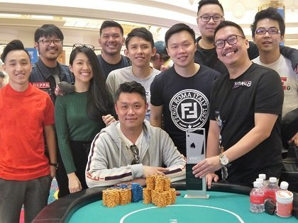 Unexpected high roller action springs up in Incheon – Ivan Leow wins US$118,000
