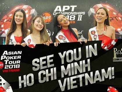 APT Vietnam 2018 with VND 6BN Main Event guarantee; Short Deck Poker and Shot Clock introduced