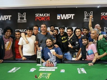 Dhaval Mudgal wins the inaugural WPT Vietnam Main Event for VND 2.4 Billion