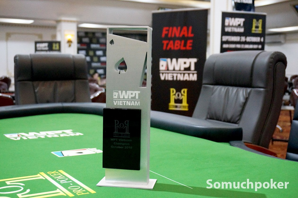 WPT Vietnam Main Event Live Updates - Final Day