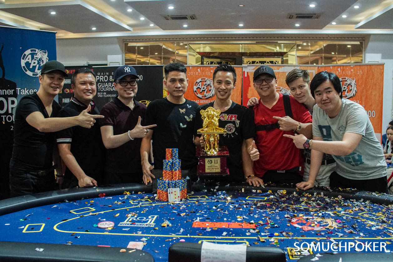 APL HCMC: Quang Nguyen wins the Main Event! Soo Jo Kim runner-up