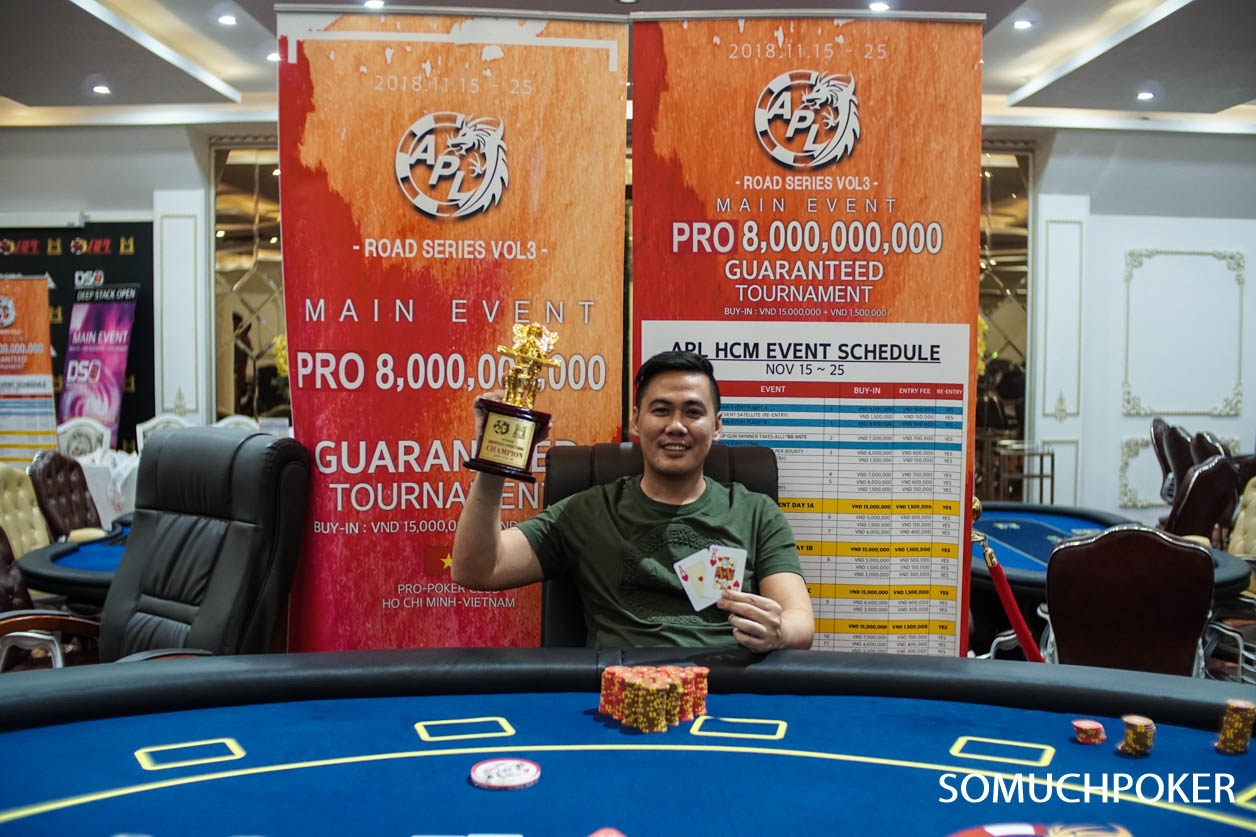 APL Ho Chi Minh City: Do Thanh Duy, Abhishek Paul and Christopher Mateo win events