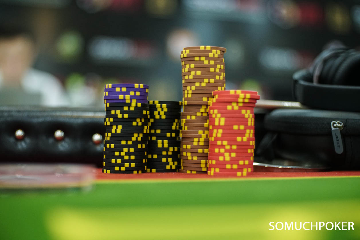 APL HCMC Main Event - Day 2 Chip counts