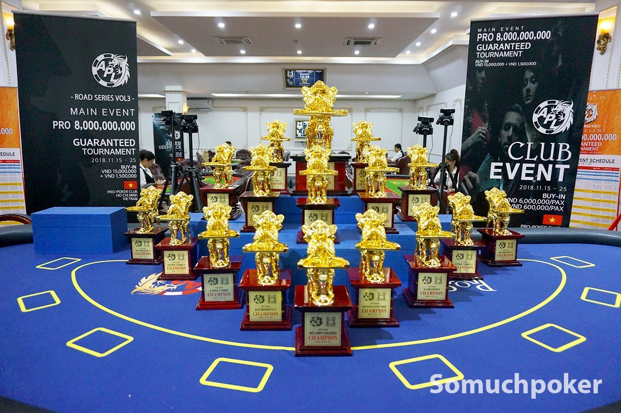 APL Ho Chi Minh City – Road Series Vol. 3 opens doors with the DeepStack Open Main Event