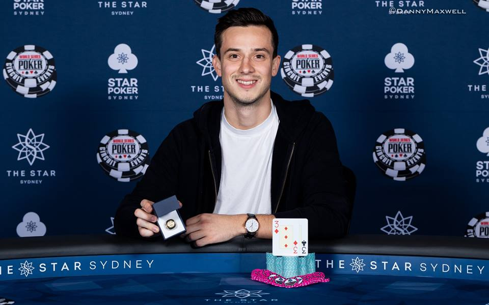 Alex Lynskey pockets US$303,000 by taking down WSOPC Sydney Main Event