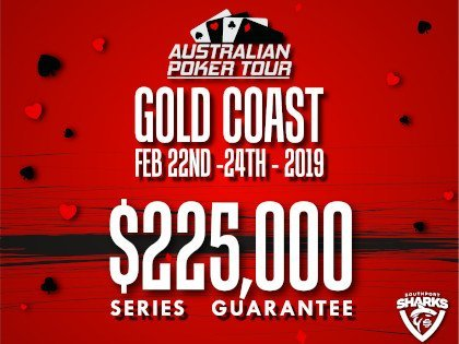 Australian Poker Tour Gold Coast Schedule