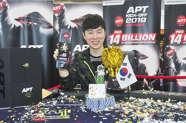 Lim Yohwan wins the APT Championships Event; Michael Falcon earns top honors; Cao Ngoc Anh & Tai Duc Huynh among side winners