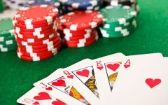 Poker Cards And Chips 240x150