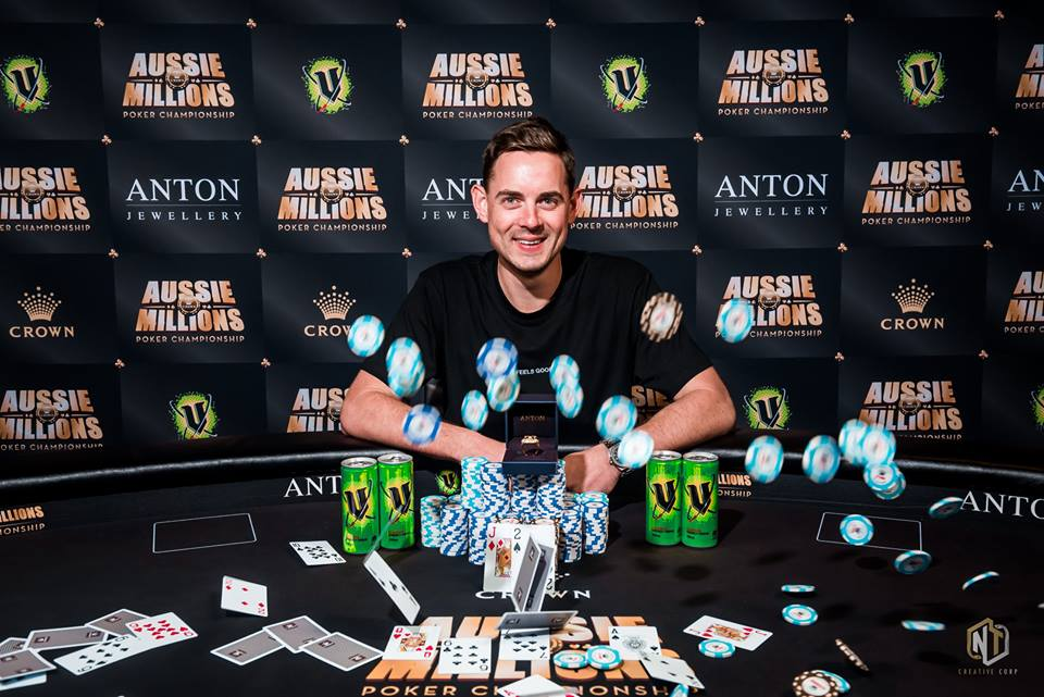 Aussie Millions: Red hot Toby Lewis wins the 50K Challenge and runner-up at the 25K; Vincent Huang wins ring #2