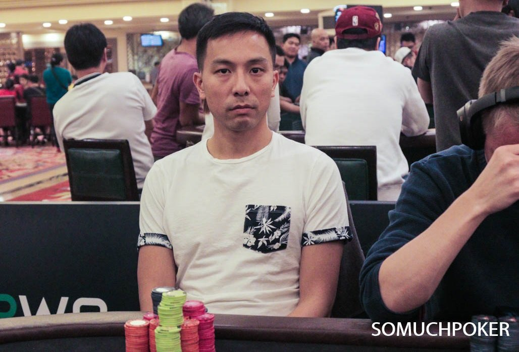 PPWC: Alpheus Chan ends Main Event Day 1B at the top of 46 survivors; William Ysmael close behind