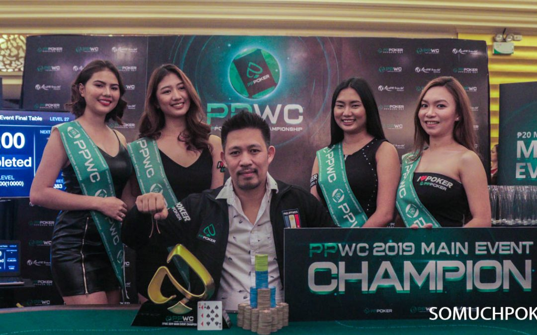 Richard Marquez crowned the first-ever PPWC Main Event champion