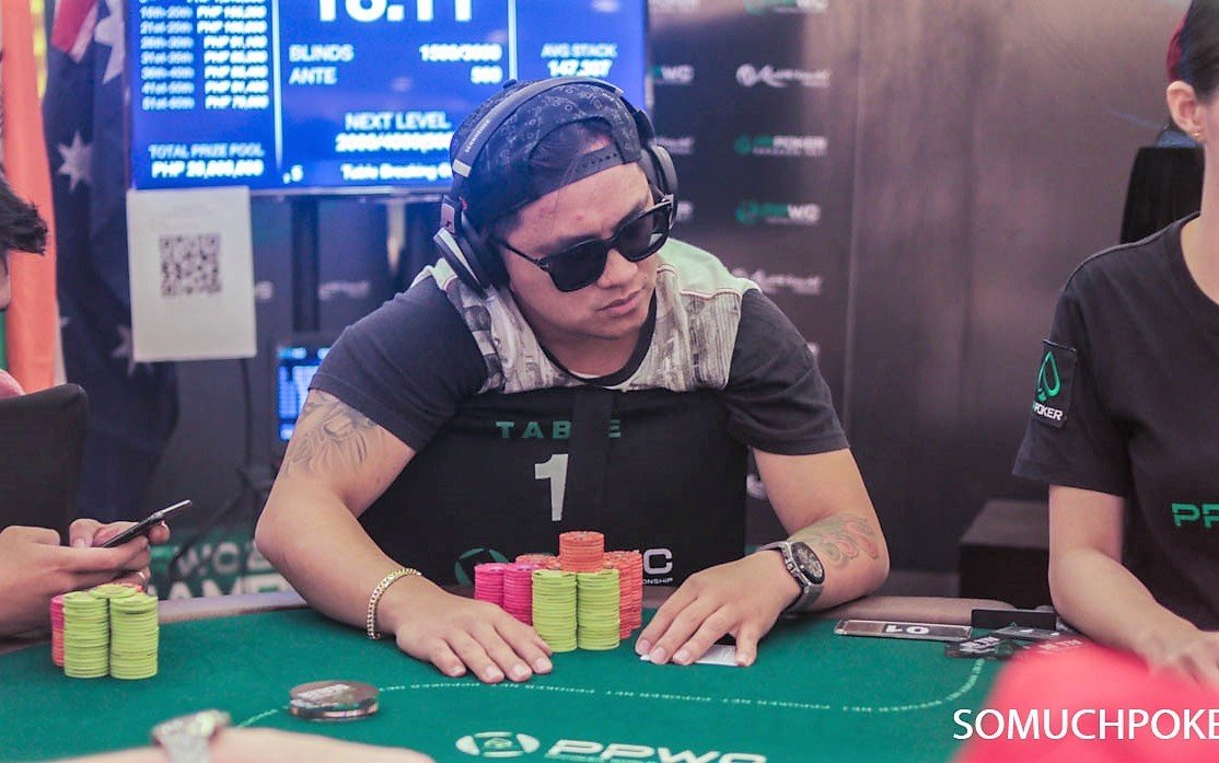 PPWC Main Event Day 2 ends with Lester Edoc and Mike Takayama leading the final 16 players