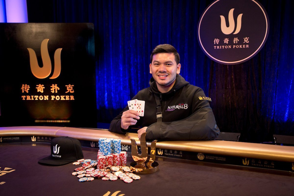 Triton High Roller Series: Career best score for Michael Soyza!
