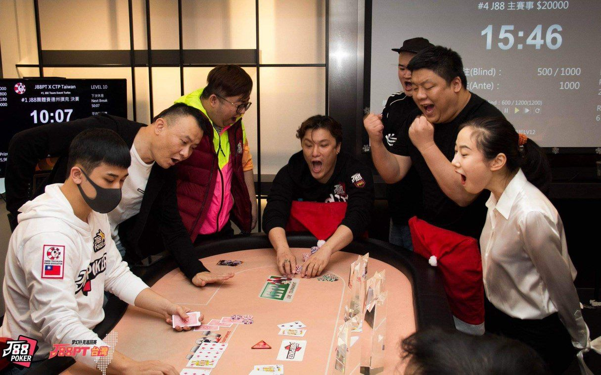 J88Poker Tour Taiwan hosts NT$60,000 Mixed Game Team Event