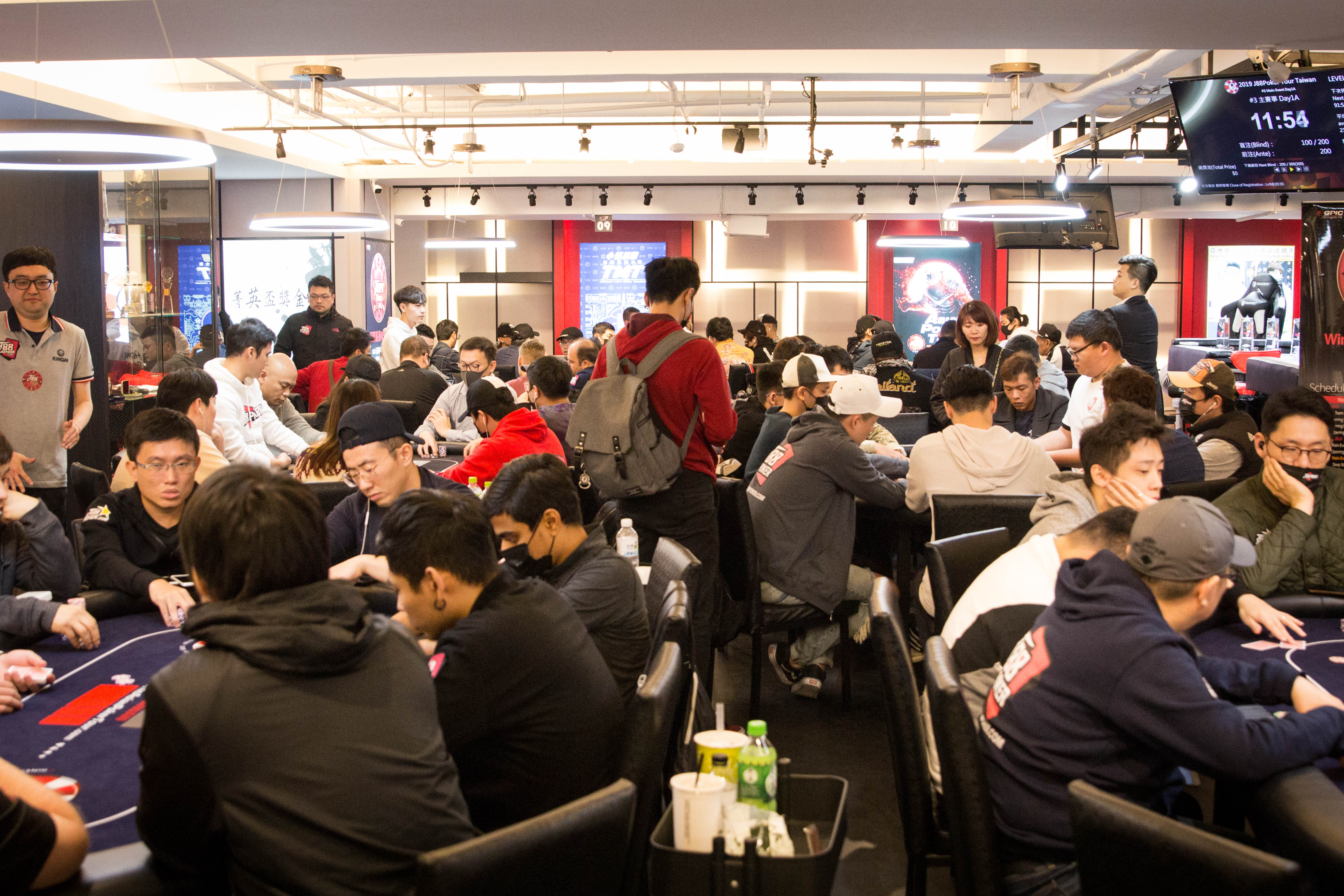 J88Poker Tour: Main Event opens with 105 at Day 1A; Yi Wei Peng wins first trophy
