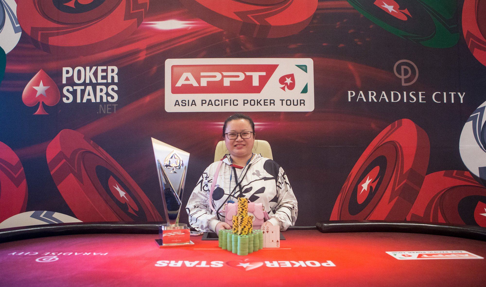Yan Li wins a second title at the APPT Korea National event; Phachara Wongwichit claims the Short Deck