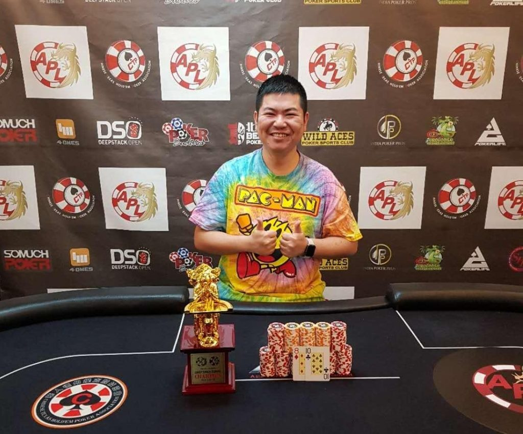 Chi Jen Chen Wins Apl Taiwan Main Event For Nt 1 278 500 Steve Yea Takes Down The High Roller Somuchpoker