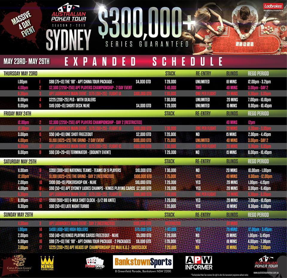 Sydney-exp-sched
