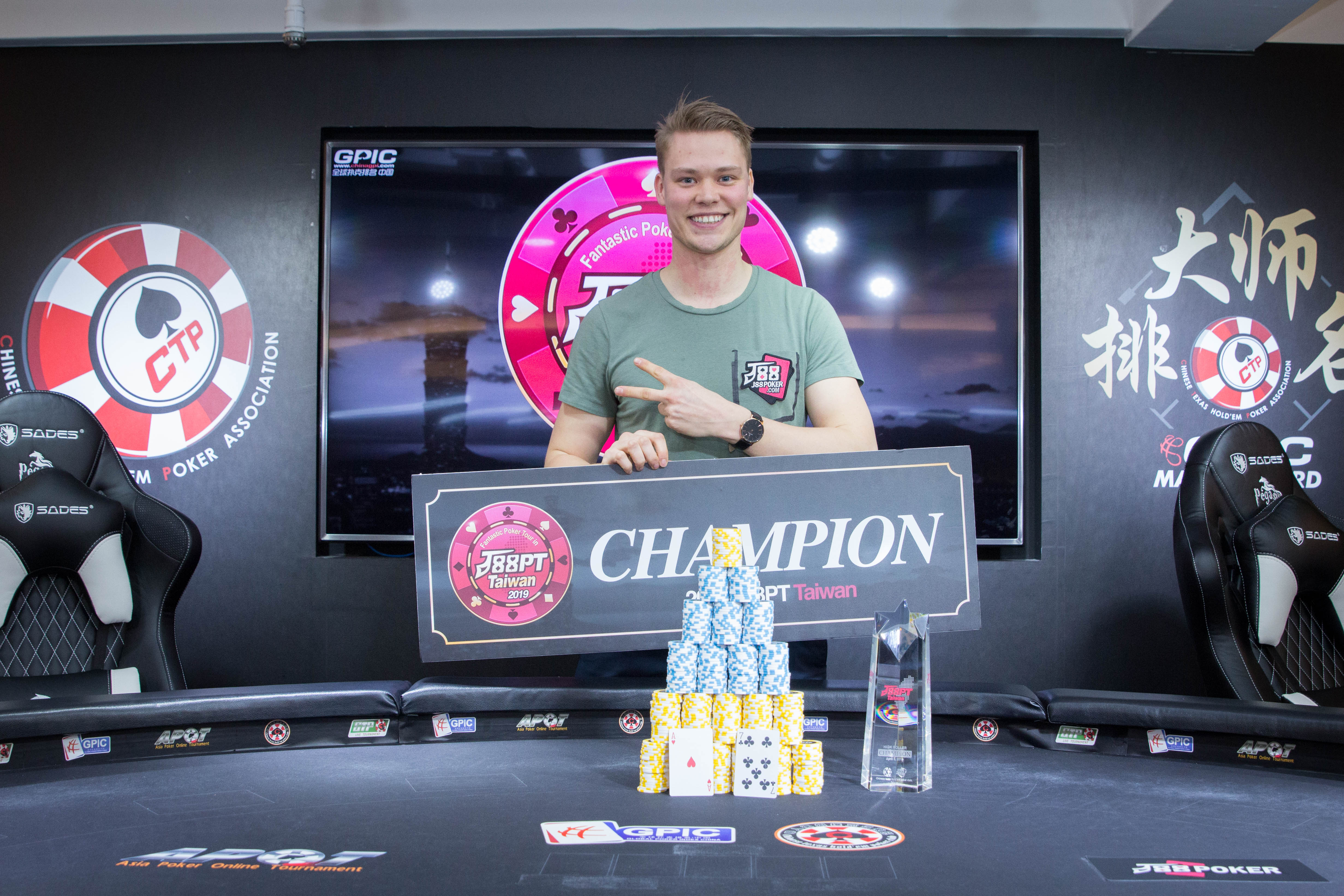 J88Poker Tour closes with high marks and Eemil Tuominen winning the High Roller