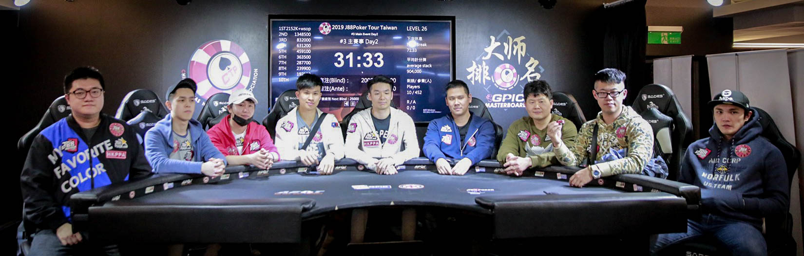 Meet the Final 9 of the J88Poker Tour Main Event
