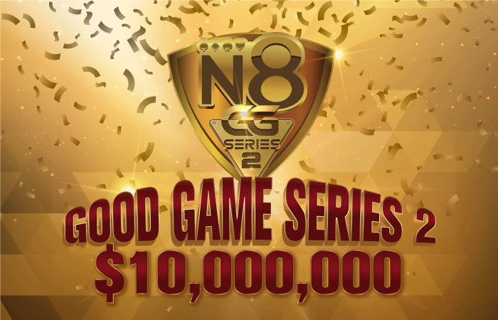 Natural8 is bringing back the GG Series with $10M GTD across 157 events