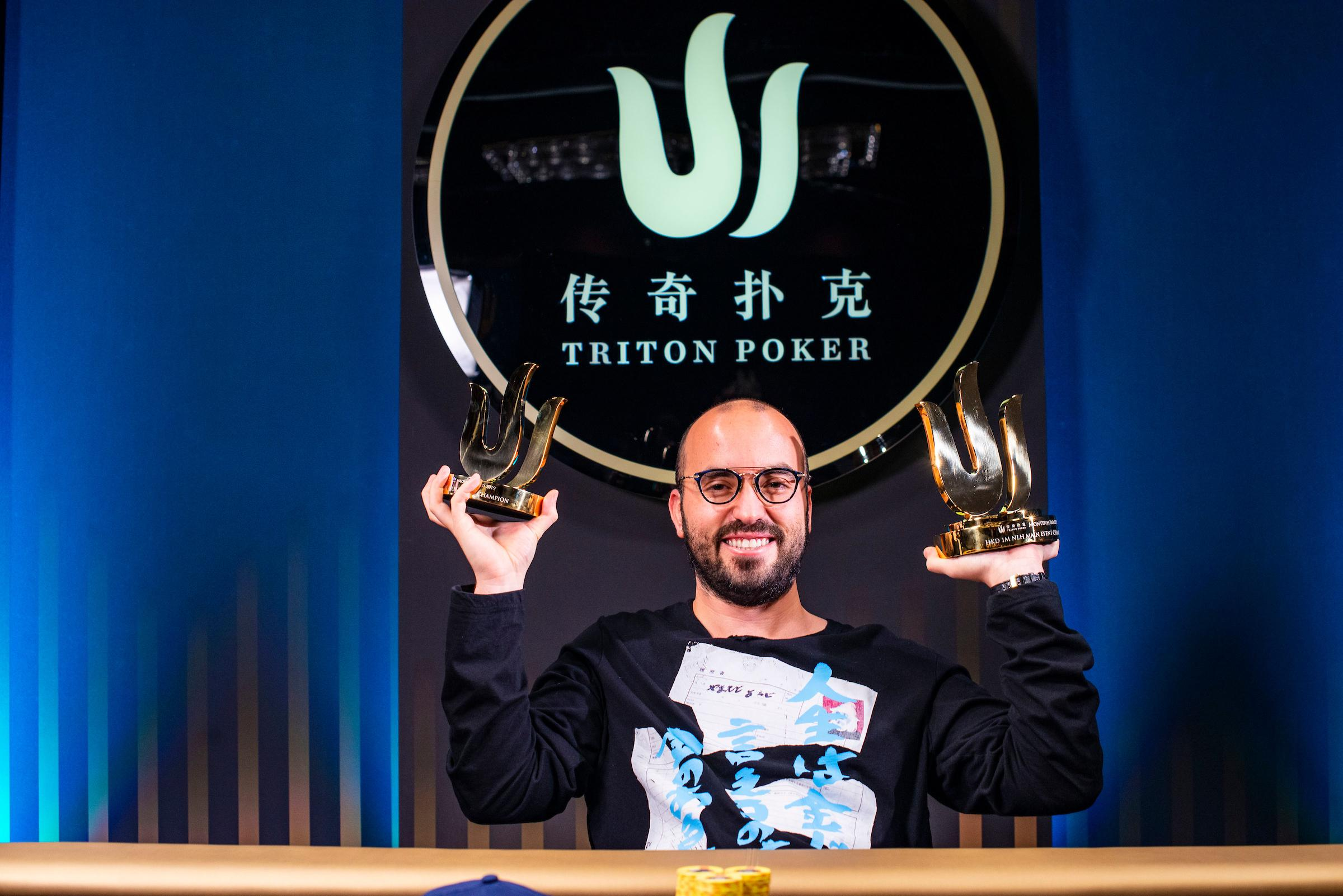 Bryn Kenney wins Triton Series Montenegro 2019 Main Event, Danny Tang runner-up