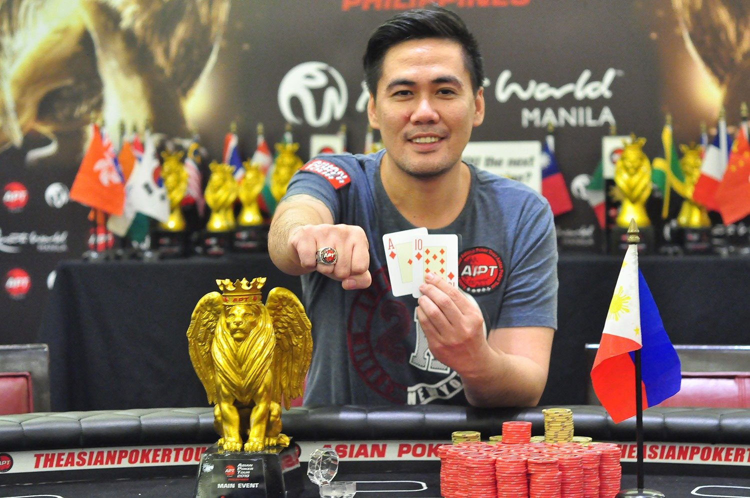 APT Philippines early highlights: Christopher Mateo wins the Main Event; Iori Yogo & Narutoshi Otsuka win High Rollers