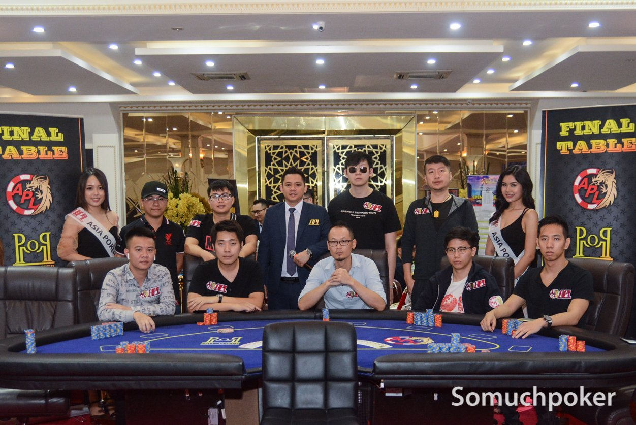 APL Vietnam 2019 - Main Event Final Table Live Updates