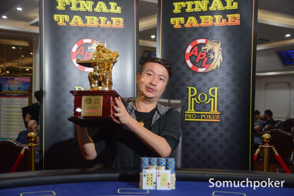 A dominating victory for China's Zhu Yong at the APL Vietnam Main Event