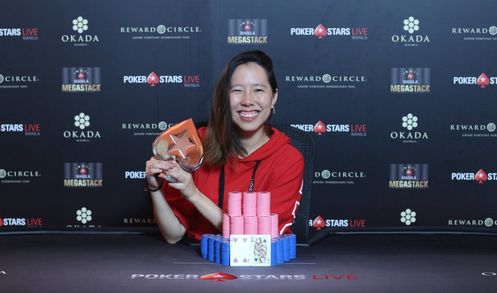 Manila Megastack: Lisa Tan Meiling becomes first woman to win the Main Event; many big names claim side event titles