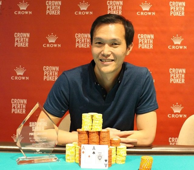 Andrian Chin wins Crown Perth Sapphire Series Main Event