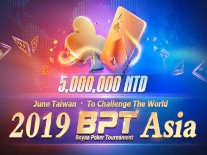 2019 Boyaa Poker Tournament Asia Schedule