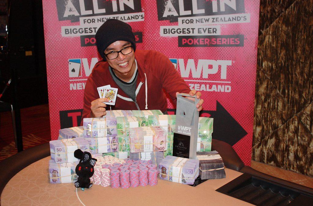 Ken Chan wins WPT New Zealand Main Event; Vincent Chauve crowned WPT Asia-Pacific POY