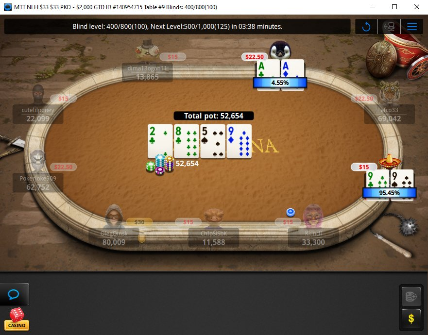 888Poker Tournament