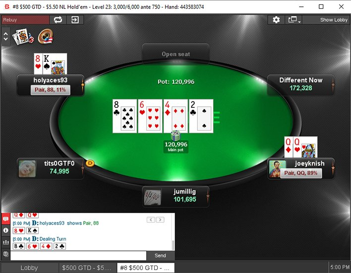 Limit hold'em bankroll