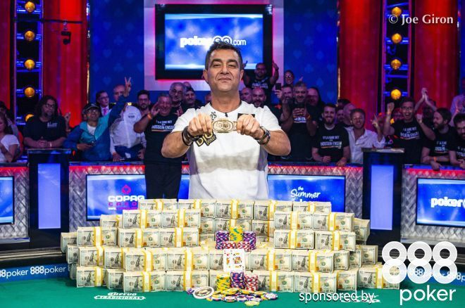 WSOP 2019 Main Event: Hossein Ensan is crowned World Champion; Dario Sammartino Runner-Up