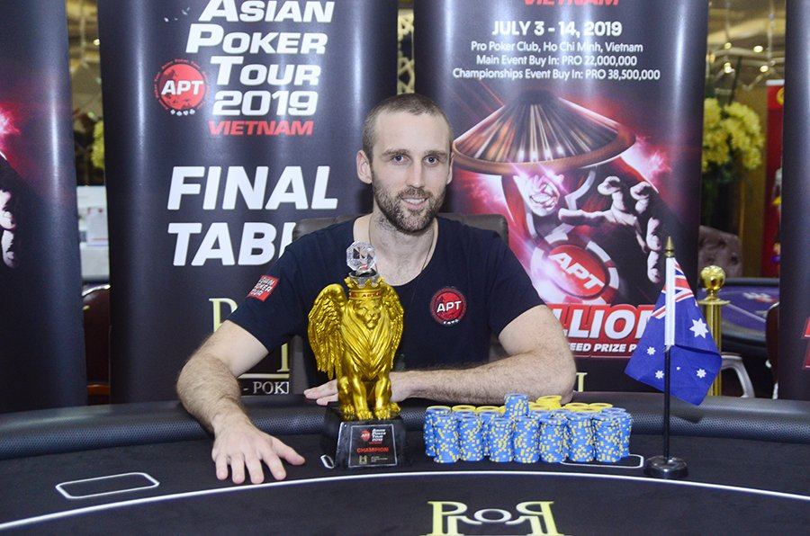 APT Vietnam 2019: Oliver Helm wins the Championships Event; Terry Nguyen awarded Player of the Series; Christopher Mateo bags two