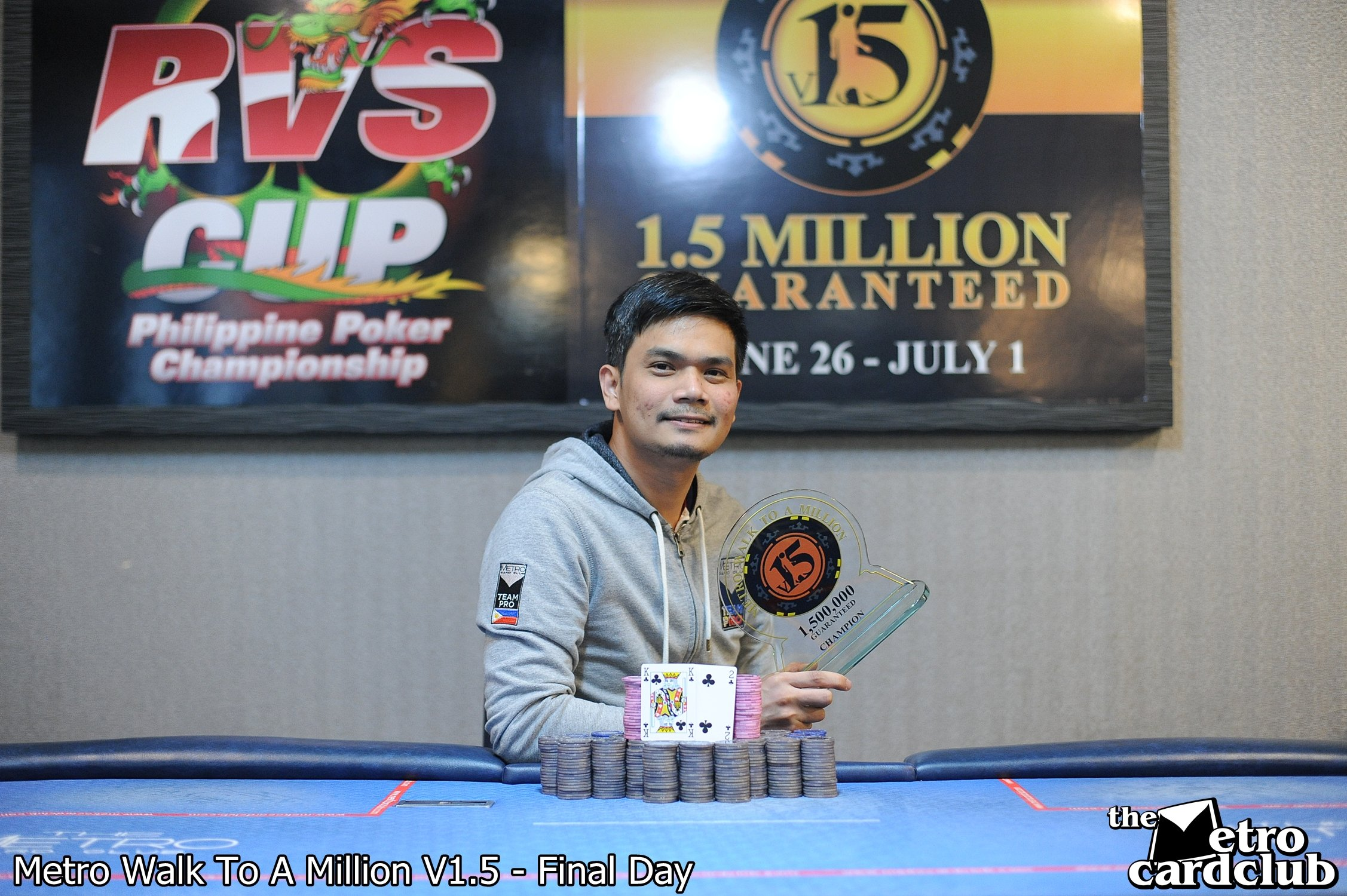 Pinoy Briefs: Mark Amparo wins the Metro WALK TO A MILLION; Manila Super Series and APPT Manila in July